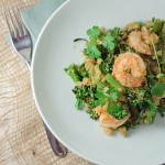 Asian Quinoa with Shrimp & Broccolini {Recipe}