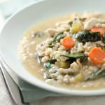 Chicken, Barley, & Swiss Chard Soup Recipe