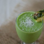 Piña Colada Green Monster Smoothie Recipe