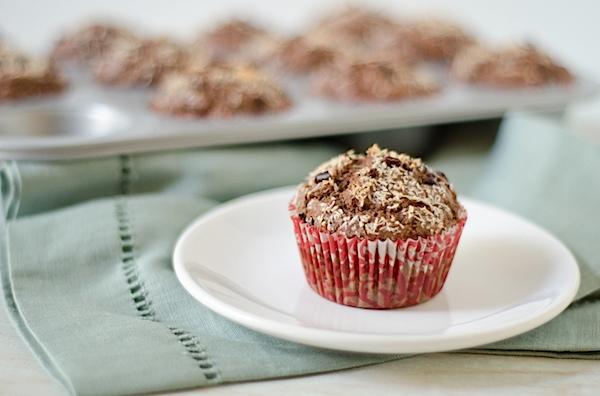 Chocolate Coconut Cacao Muffins Recipe