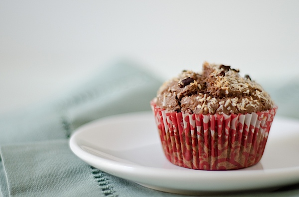 Chocolate Coconut Cacao Muffins Recipe