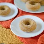 Healthier Baked Pumpkin Doughnuts Recipe