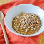 Healthy Pumpkin Pie Oatmeal Recipe