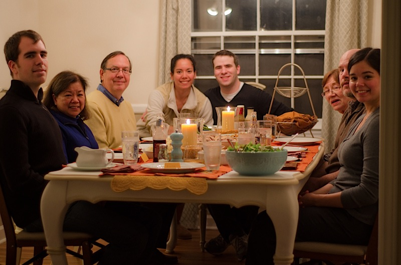 Thanksgiving 2012 Part 2/2 – The Feast