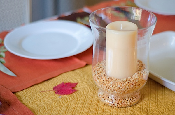 Simply Chic: Affordable & Easy Thanksgiving/Fall Table Decorations {Home}