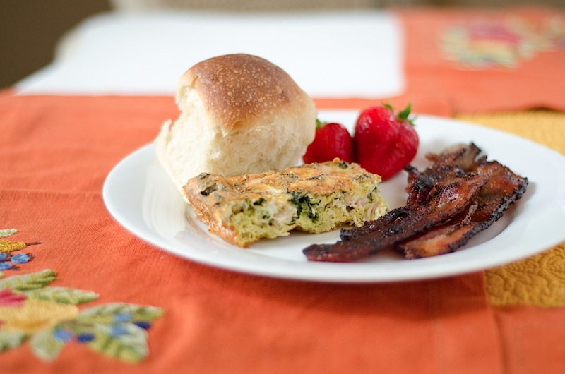 Turkey Egg Breakfast Casserole {Thanksgiving Leftover Recipe}