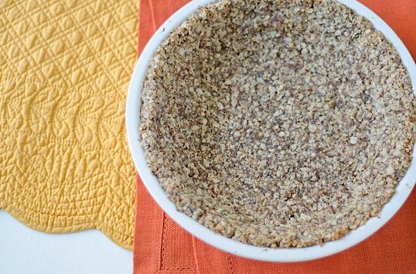 Healthy Easy Oat Pie Crust Recipe (Vegan)
