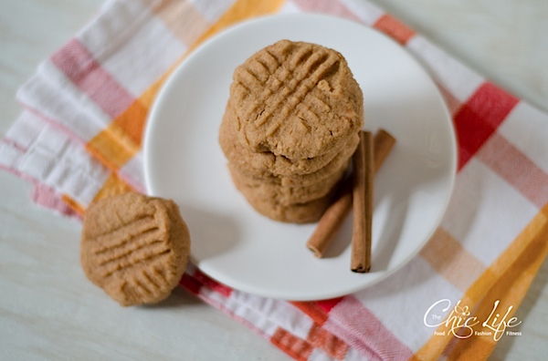 Cinnamon Maple Peanut Butter Cookies Recipe