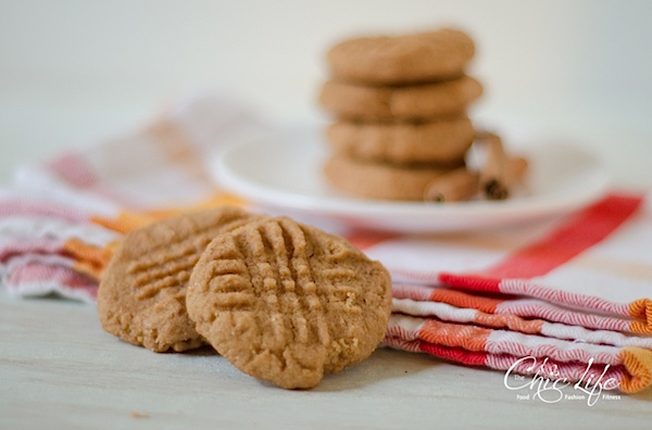 Cinnamon Maple Peanut Butter Cookies Recipe