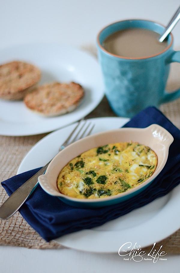 Berebere Spiced Egg Bake Recipe {for One}