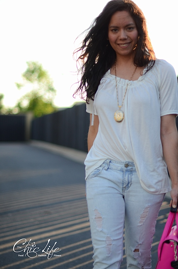 Girly Distressed {Outfit}