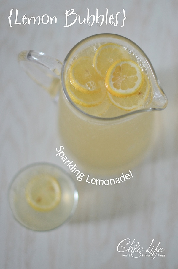Easy Sparkling Lemonade Recipe