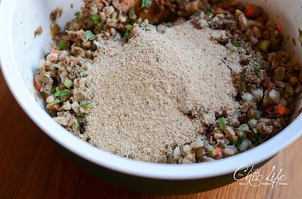 Vegan Lentil Farro Meat Loaf Recipe
