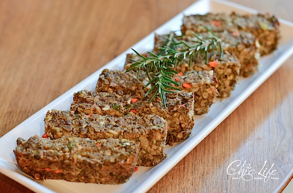 "The perfect vegan Thanksgiving entree that everyone will love! This super healthy vegan lentil farro ""meat"" loaf recipe is easy, delicious, and nutritious! And it's clean eating. #vegan #fallfood #fallrecipe #recipe #healthy #healthyrecipes #healthyfood #cleaneating #recipe #realfood #thanksgivingfood #thanksgivingrecipe"