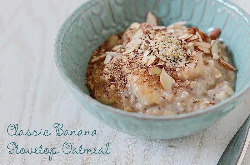 Classic Banana Stovetop Oatmeal Recipe