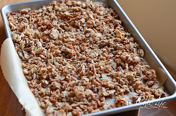 Oil-Free Fruit and Nut Granola Recipe