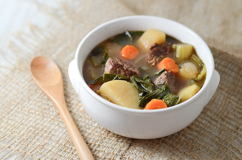 Healthified Slow Cooker Beef Stew {Recipe}