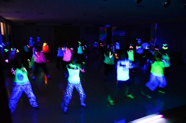 New Years Zumba Glow Party
