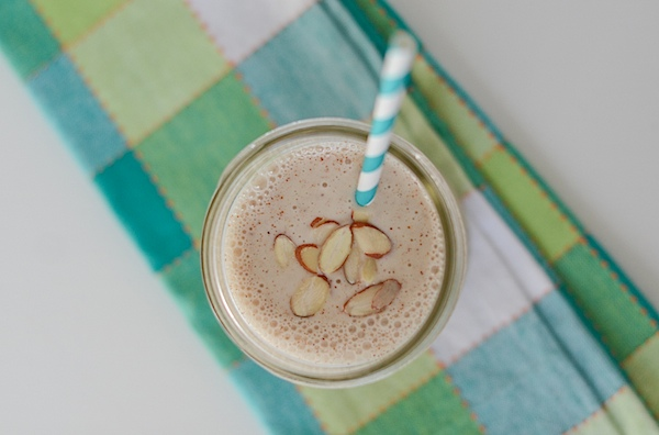 Healthy Banana Almond Butter Smoothie Recipe