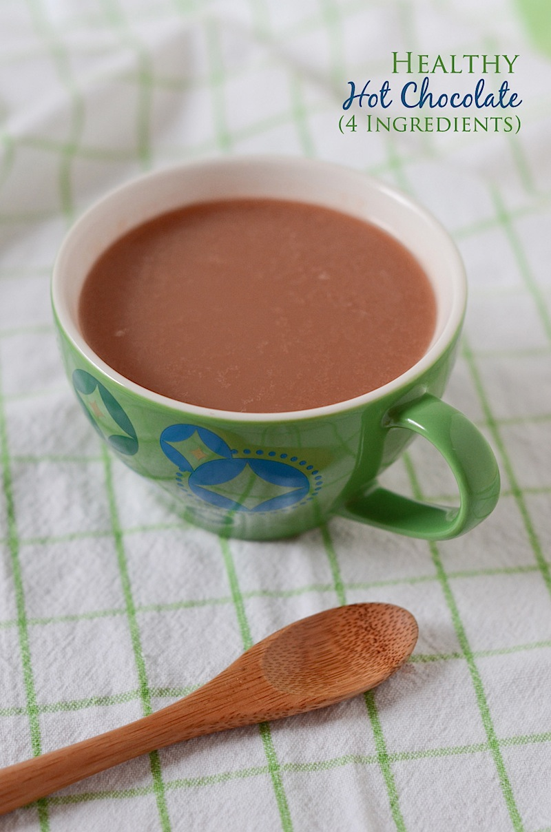 Healthy Hot Chocolate Recipe - The Chic Life
