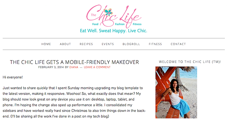The Chic Life Mobile Makeover {Take 2}
