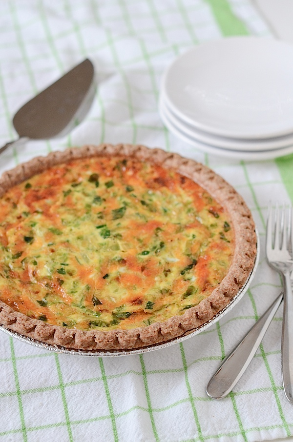 Holiday Quiche Recipe | Easy Brussels Sprouts and Cheddar Cheese Quiche Recipe | Entertain your family and friends in style this holiday season with this easy and delicious clean eating quiche recipe. This healthy recipe works well for groups when you have guests staying with you. #recipe #healthyrecipe #quiche #holidayrecipe #entertaining #feedacrowd #healthyrecipe