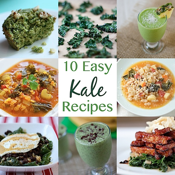 10 Easy Kale Recipes
