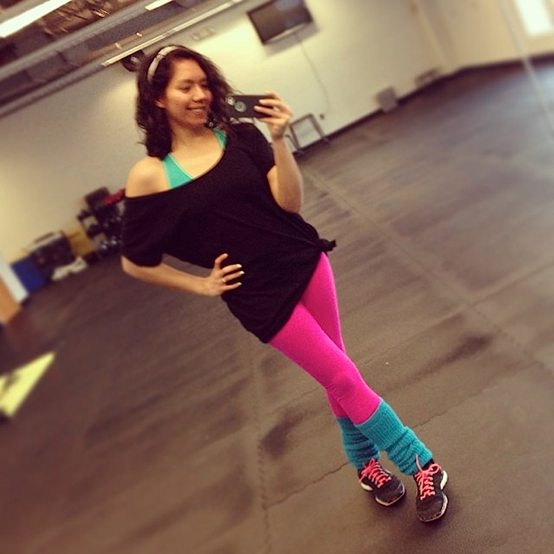 Totally 80s Dance Fitness Party - The Chic Life