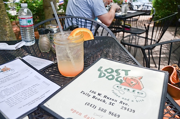 Lost Dog Cafe - Folly Beach, SC #restaurant