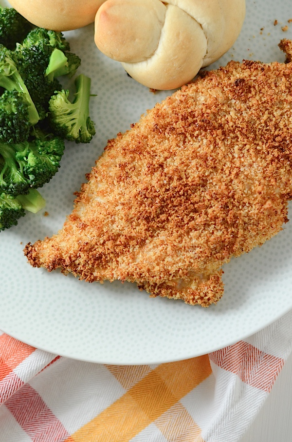 Easy Spiced Oven-Fried Chicken Recipe #healthy #recipe #food