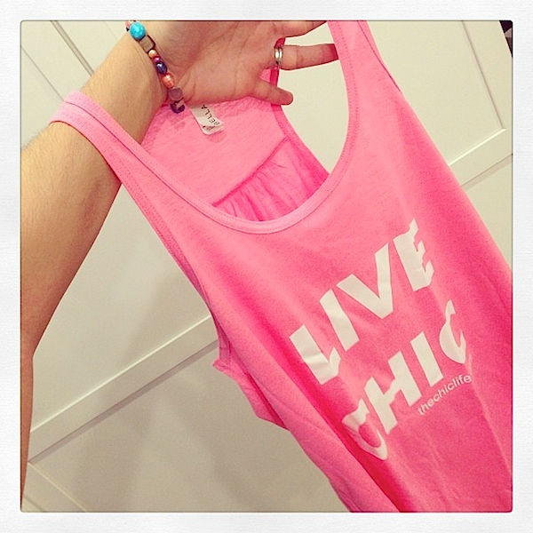 Live Chic Tank Top