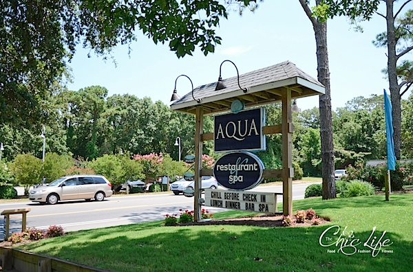 AQUA Restaurant and Duck Donuts {Duck, NC}