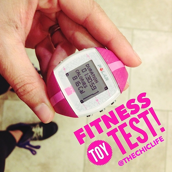 My First Heart Rate Monitor Test