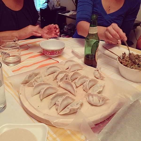 Dumpling Making Party