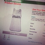 Own Your Strength Shirt and Apparel Discount