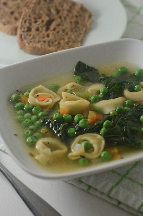 Easy Tortellini Soup Recipe