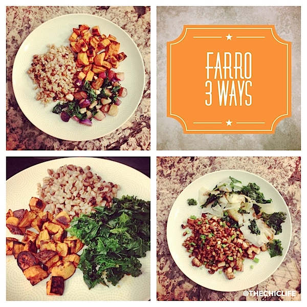 Farro 3 Ways - Easy Weeknight Meals