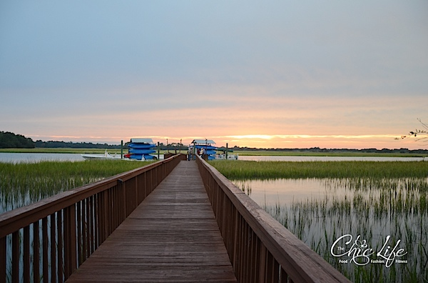 Sunset on the Marsh at Kiawah Island