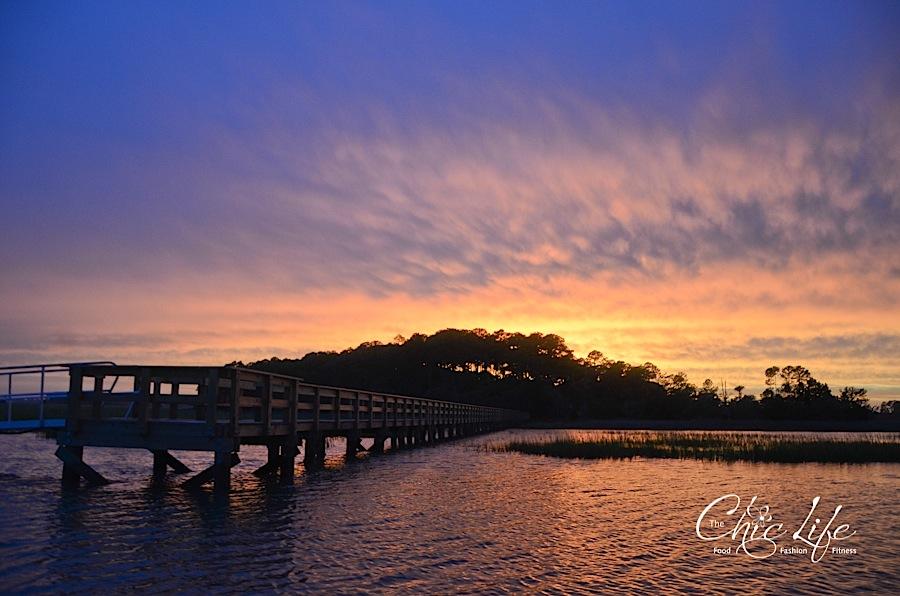 Sunset on the Marsh at Kiawah Island