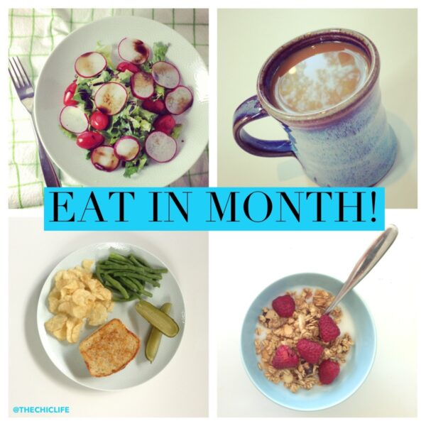 Eat In Month Challenge