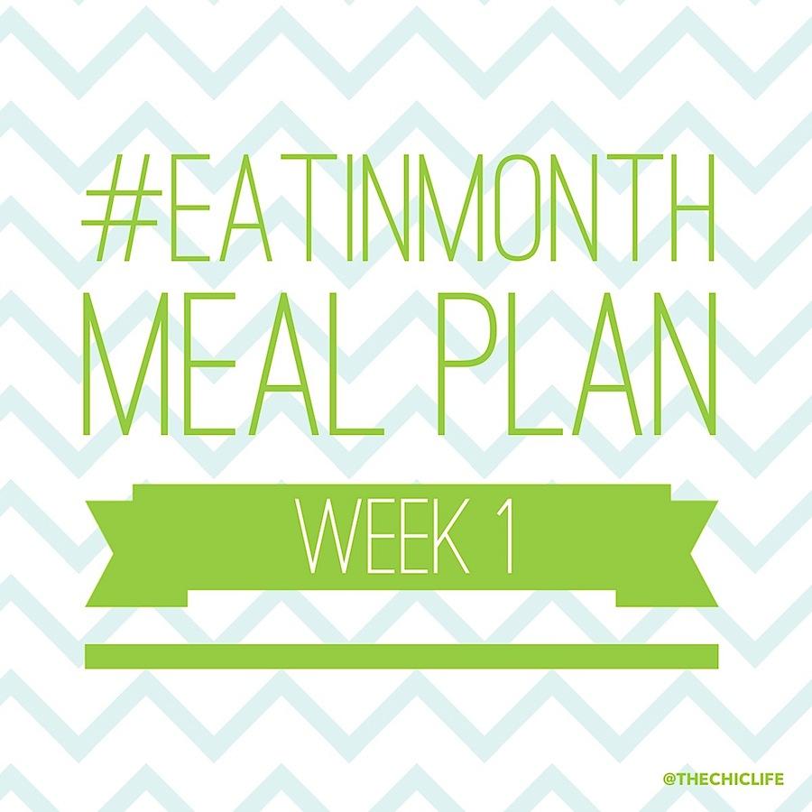 eat in month 2015 meal plan week 1