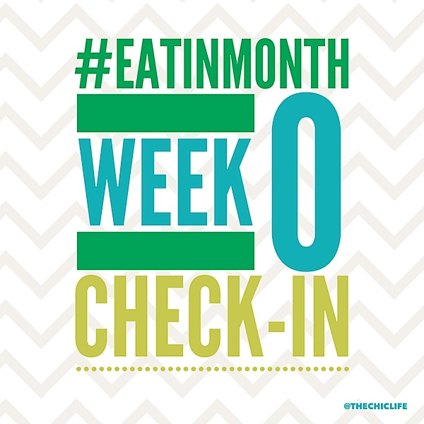Eat in Month Week 0 Check-In