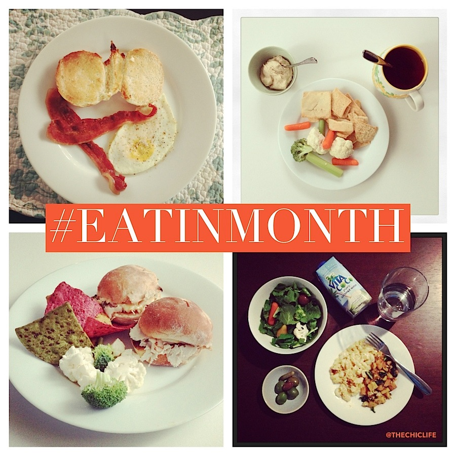 Eat in Month 2015 Meal Plan Week 1