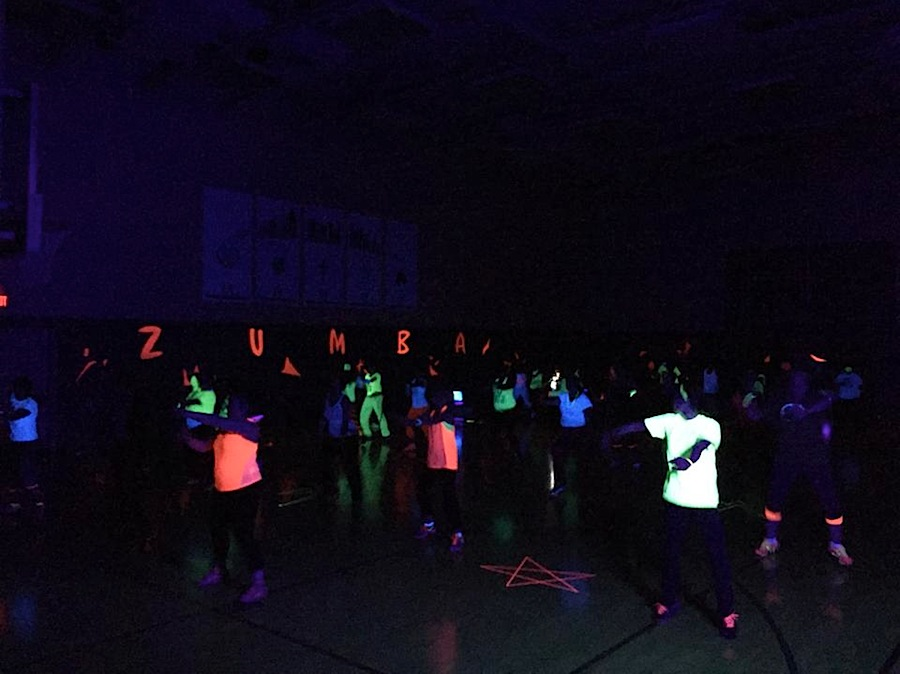 New Year Zumba Glow Party 2015