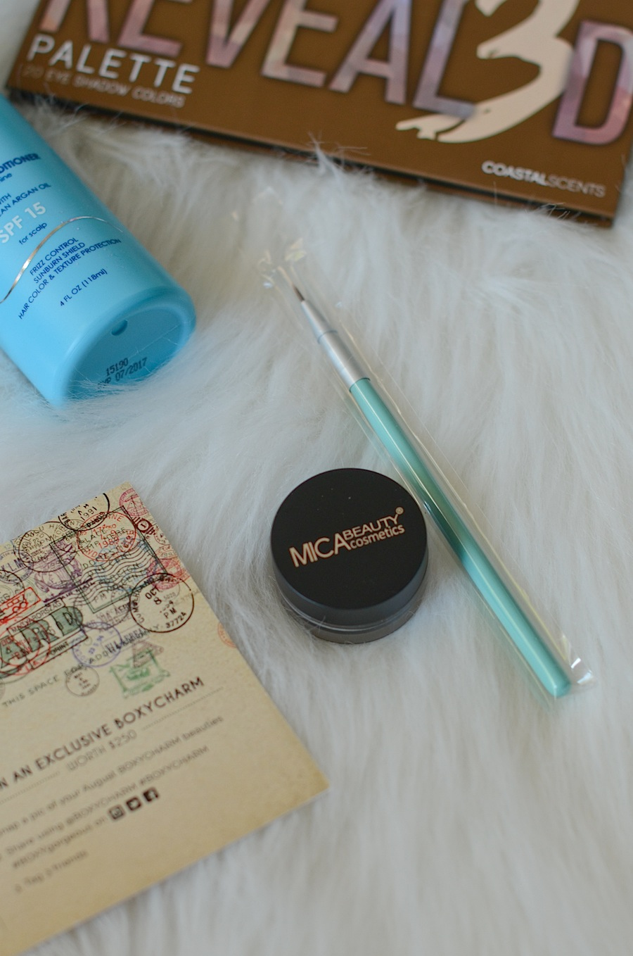 Boxycharm August 2015 Unboxing and Review