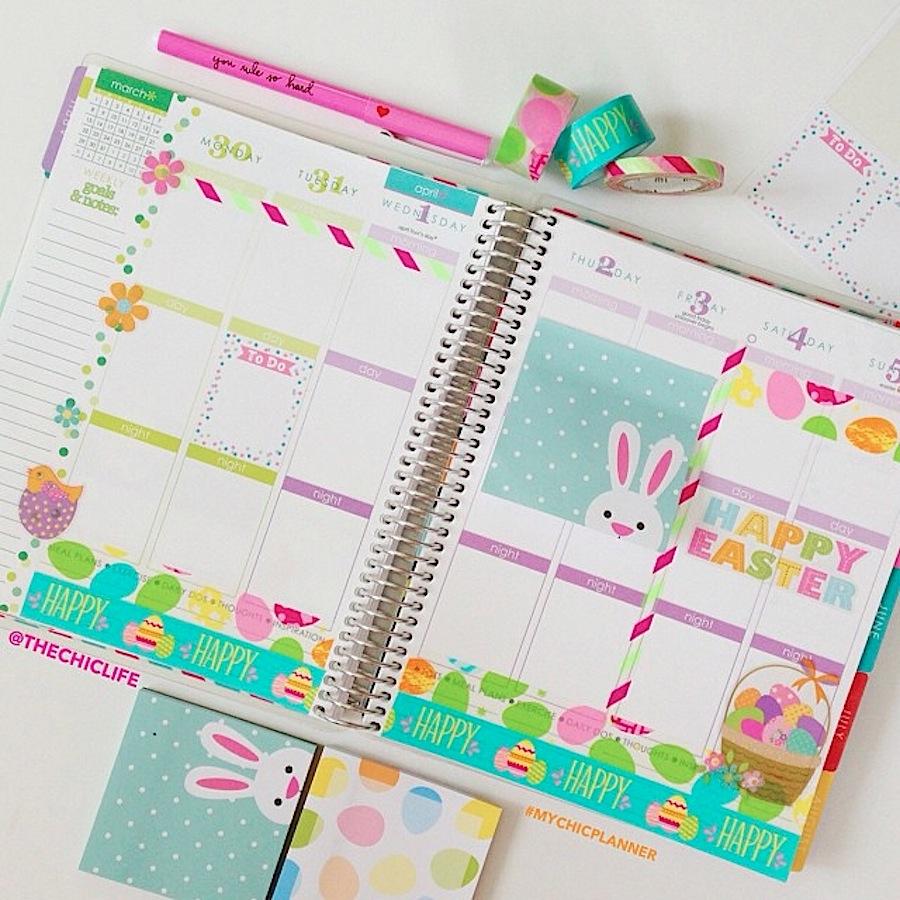 Planner Decoration Ideas: April 2015 (Erin Condren ...
