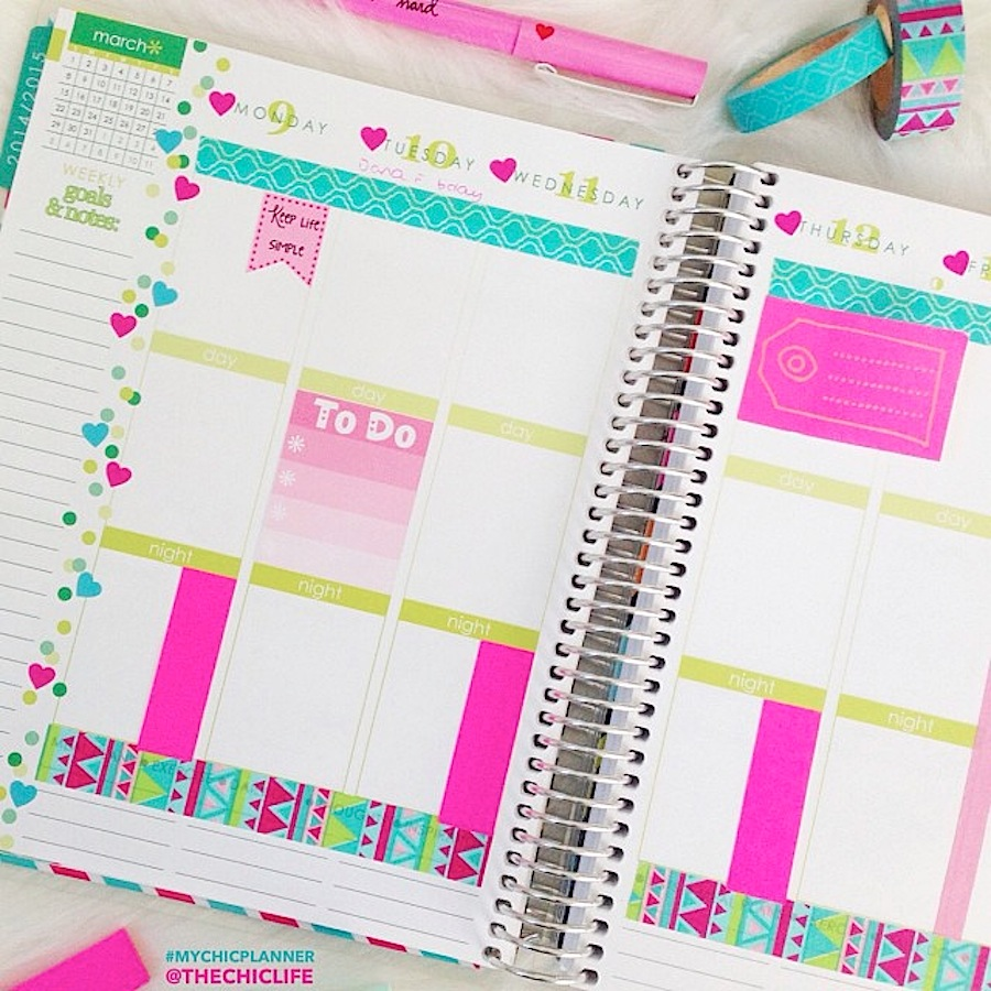 Planning Ideas Old Fashioned Way To Get The Best Pool: Planner Decoration Ideas: March 2015 (Erin Condren