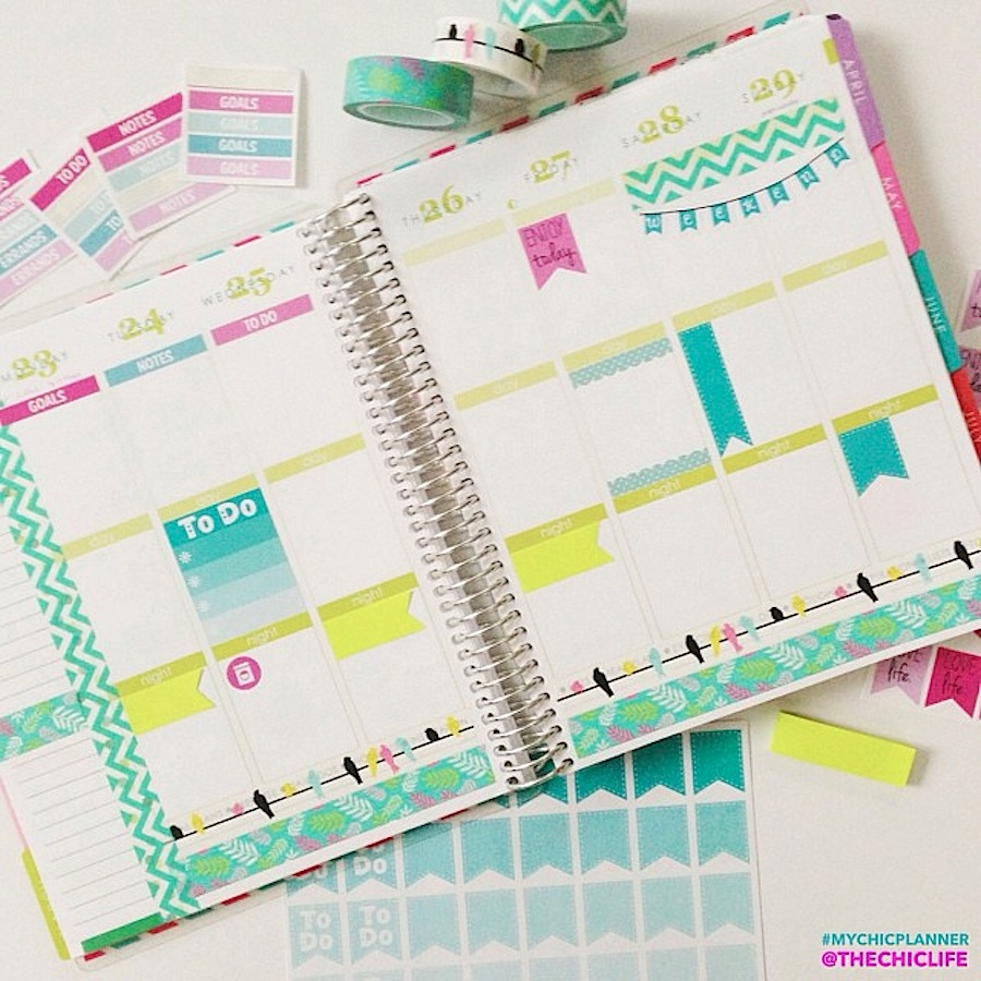 Planner Decoration Ideas March 2015 (erin Condren