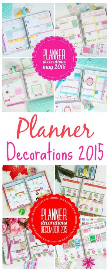 Planner Decorations 2015 | Erin Condren Vertical
