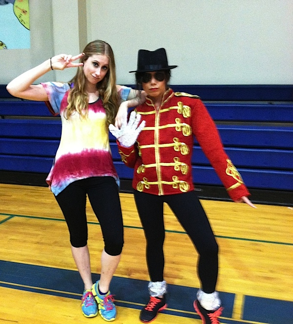 Way Back Wednesday {Dance Fitness Theme Class}
